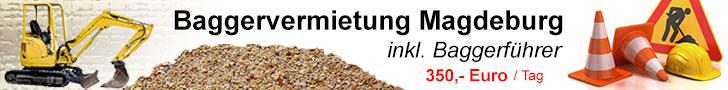 Baggervermietung Magdeburg